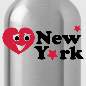 Navy newyork_smiley_heart Sweaters - Drinkfles