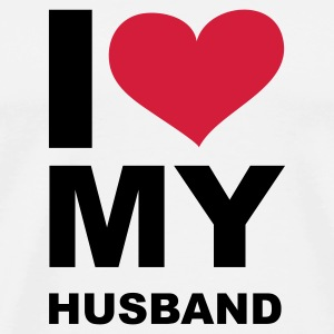 I LOVE my Husband - eushirt.com - Männer Premium T-Shirt