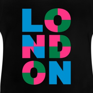 Schwarz LONDON art - eushirt.com Kinder T-Shirts - Baby T-Shirt