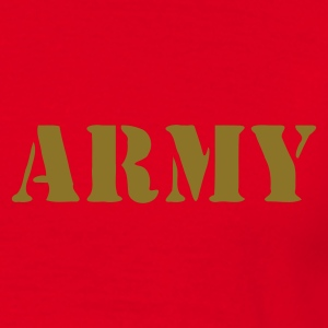 Rouge army Sweatshirts - T-shirt Homme