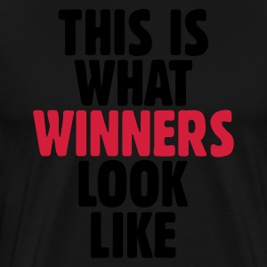This is what winners look like Kookschorten - Mannen Premium T-shirt