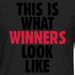 This is what winners look like Delantales - Camiseta de manga larga premium hombre