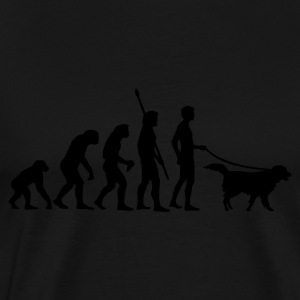 evolution_dog Hoodies & Sweatshirts - Men's Premium T-Shirt