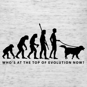 evolution_dog_b Sweatshirts - Dame tanktop fra Bella