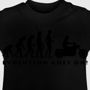 evolution_biker_b Shirts - Baby T-shirt