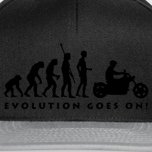 evolution_biker_b Shirts - Snapback cap