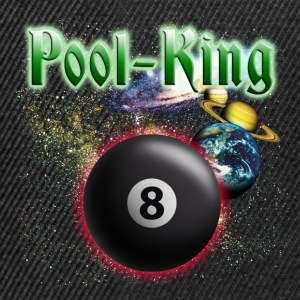pool_king_space T-Shirts - Snapback Cap