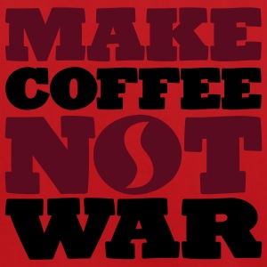 Make Coffee not war - Männer Fußball-Trikot