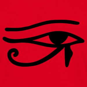 Red Eye of Horus Bags  - Men's T-Shirt