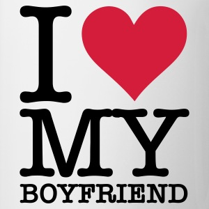 Wit I Love My Boyfriend (2c, NEU) T-shirts - Mok