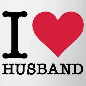 Bianco I Love My Husband (2c, NEU) T-shirt - Tazza