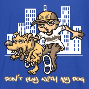 don't play with my dog - Débardeur Femme marque Bella