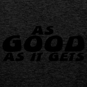 As Good As It Gets - Premium singlet for menn