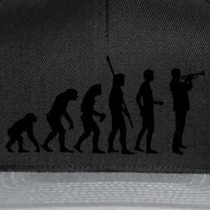 evolution_trompeter Sweat-shirts - Casquette snapback