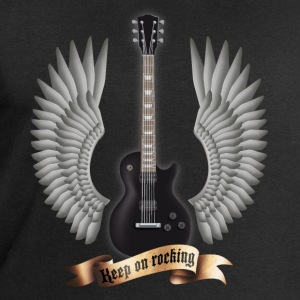 guitars_and_wings_black Magliette - Felpa da uomo di Stanley & Stella