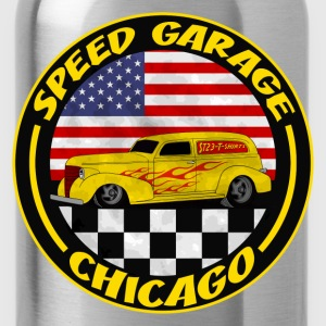 Noir chicago speed garage T-shirts - Gourde