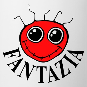 Fantazia Smiley Front Dancing Man Reverse - Mug