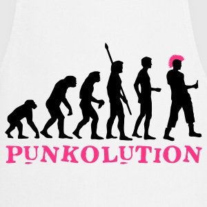 evolution_punk_2c_b Camisetas - Delantal de cocina