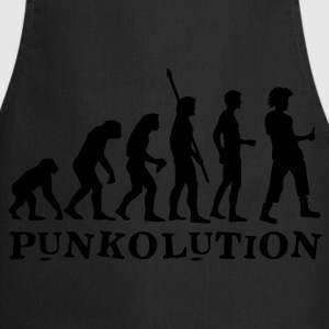 evolution_punk_b Camisetas - Delantal de cocina