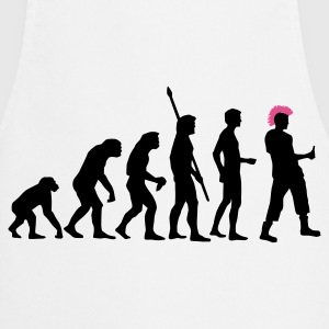 evolution_punk_2c Camisetas - Delantal de cocina
