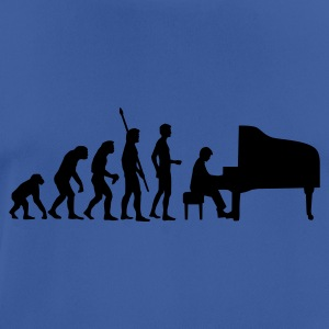 evolution_pianist Gensere - Pustende T-skjorte for menn