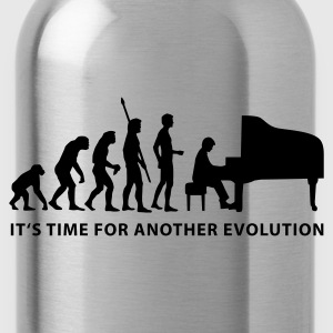 evolution_pianist_b Sudadera - Cantimplora