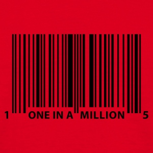barcode_one_in_a_million Sweatshirts - Herre-T-shirt