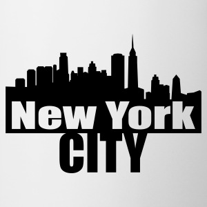 Blanc nyc NEW YORK CITY T-shirts - Tasse