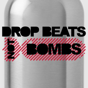 Zwart Drop Beats Not Bombs Sweaters - Drinkfles