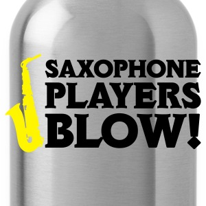 Saxophone Players Blow! Shirt Contrast - Borraccia