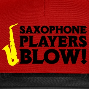 Saxophone Players Blow! Kontrast Shirt - Snapback Cap