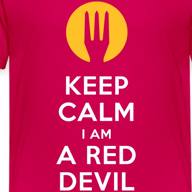 keep calm i am a red devil- Belgium - Belgie