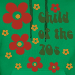 Light green Child of the 70s Organic Products - Men's Premium Hoodie