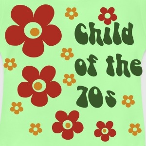 Verde hoja Child of the 70s Mochilas - Camiseta bebé