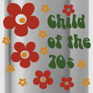 Verde hoja Child of the 70s Mochilas - Cantimplora