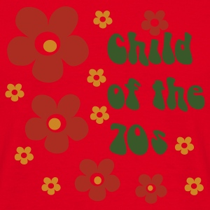 Red Child of the 70s Bags  - Men's T-Shirt