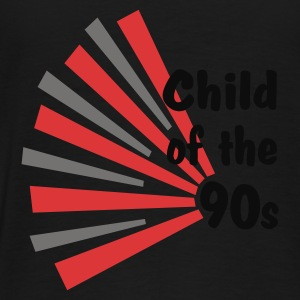 Black Child of the 90s Coats & Jackets - Men's Premium T-Shirt