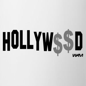 Vit/svart hollywood money by wam Långärmade T-shirts - Mugg
