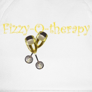 White fizzy-o-therapy Men's T-Shirts - Baseball Cap