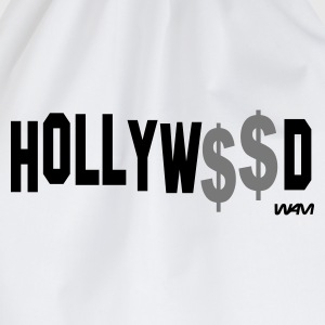 Blanca/negro hollywood money by wam Camisetas de manga larga - Mochila saco