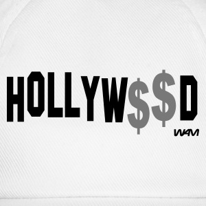 Blanca/negro hollywood money by wam Camisetas de manga larga - Gorra béisbol