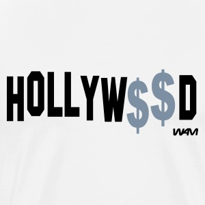 Blanca/negro hollywood money by wam Camisetas de manga larga - Camiseta premium hombre