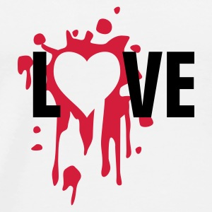 love_splatter Bottles & Mugs - Men's Premium T-Shirt
