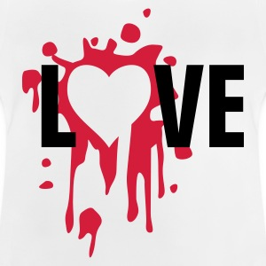 love_splatter Shirts - Baby T-shirt