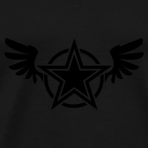 star wings Parapluies - T-shirt Premium Homme