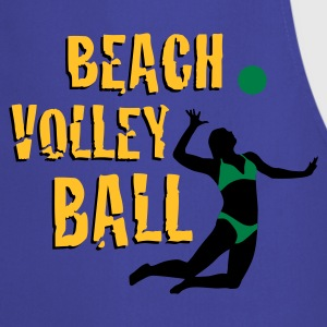 beachvolleyball_woman_b_3c Sweat-shirts - Tablier de cuisine