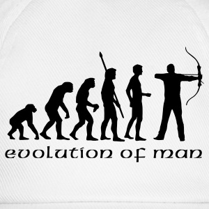 evolution_bogenschiessen_b T-Shirts - Baseball Cap