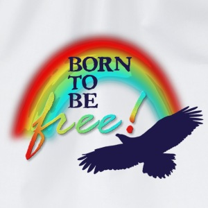 Born to be free - Turnbeutel