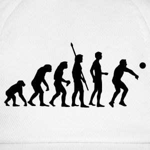 evolution_volleyball_b Sudadera - Gorra béisbol