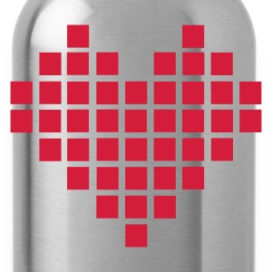Pixel Heart - Water Bottle
